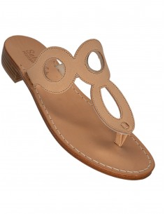 positano handmade real leather sandals