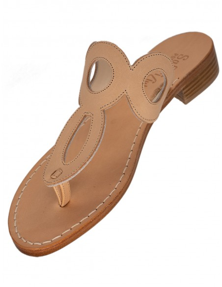 capri handmade real leather sandals