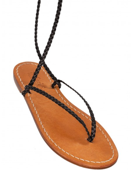 positano handmade leather sandals