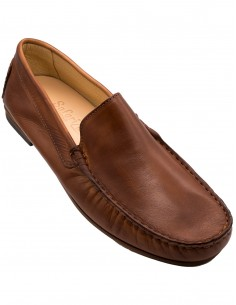 positano man loafer with leather sole