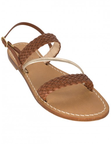 positano sandals braided