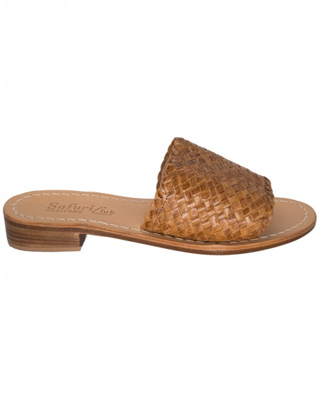 capri sandals big strip
